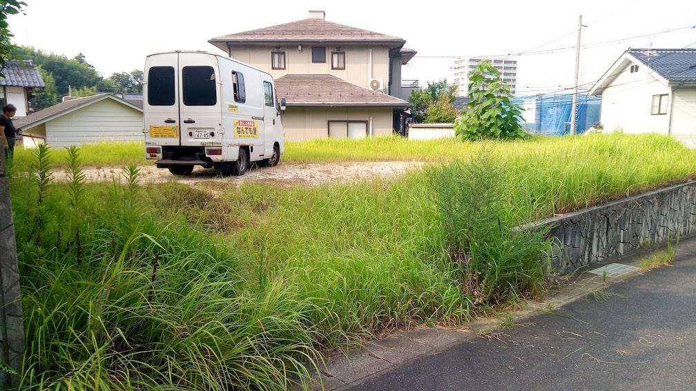 松江便利屋 なんでも屋 空地の草刈り