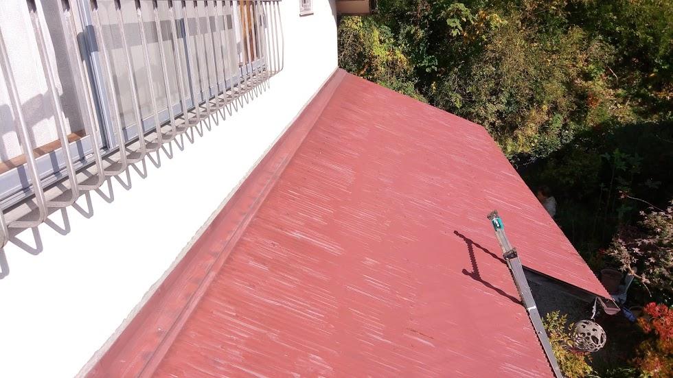 波トタン 塗装工事