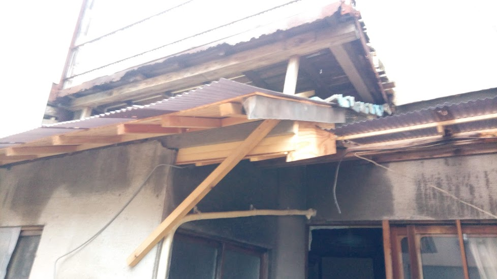大雨・雨漏り、屋根補修